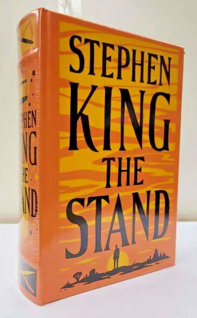 STEPHEN KING THE STAND (Complete Uncut) ~ LEATHER BOUND ~ BRAND NEW ~ SEALED ~