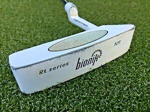 """Bionik RL Series 101 Putter  /  RH / ~35"""" Steel / Nice SuperStroke Grip / mm5406"""