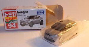 TOY-CAR-TAKARA-TOMY-TOMICA-94-Toyota-C-HR-Display-MINI-CAR-3-INCHES-1-64-IN-BOX