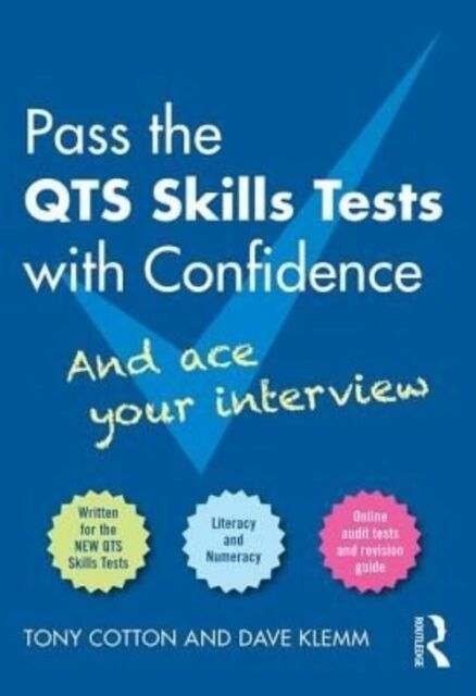 """""""VERY GOOD"""" Cotton, Tony, Pass the QTS Skills Tests with Confidence, Book"""