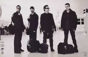POSTER-MUSIC-U-2-AT-AIRPORT-FREE-SHIPPING-9047-RC48-K