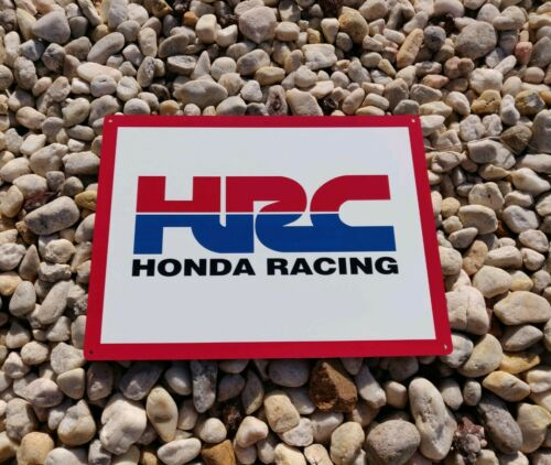 Honda Racing metal sign Motor Cycle mechanic Garage advertising 9X12 50057