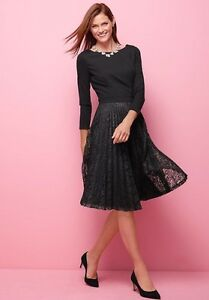 Image Is Loading Nwt 190 Talbots Women 039 S Lace Pleated