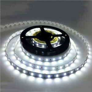 5M-5050-Cold-White-Non-Waterproof-Led-Strip-Female-DC-Connector-Indoor-Decor-US