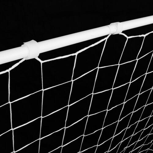 2Pack 6x4 FT Post Net Steel Frame Soccer Goal Practice Football w//Durable Net
