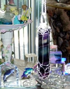 STUNNING-HAND-CRAFTED-SILVER-WIRE-WRAPPED-NATURAL-FLUORITE-CRYSTAL-WAND-PENDANT
