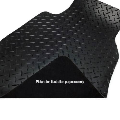 Mazda CX3 2015-2018 Black Floor Tailored Rubber Car Mats