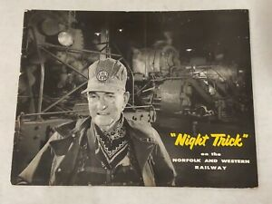 1957 Night Trick on the Norfolk and Western Railway O. WINSTON LINK photographs