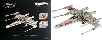 X-Wing Starfighter Red Five Star Wars a New Hope Disney Hot Wheels elite cmc91