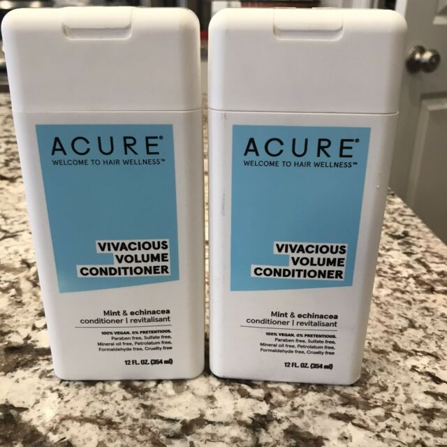 2 Brand New Acure Vivacious Volume Conditioner Echinacea