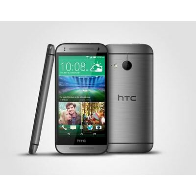Good Condition HTC One mini 2 16GB Grey 4G Unlocked Smartphone - 12M Warranty