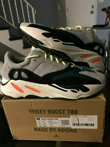 003084b28 Image is loading adidas-Yeezy-Boost-700-Waverunner-Solid-Grey-B75571-