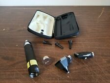 Welch Allyn Otoscope Ophthalmoscope Set In Case 71050 W 2 Heads No Battery