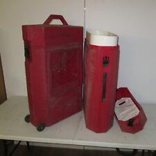 Nomadic Popup Display Hard Case 38x24x10 Trade Show Exhibit Goods Red