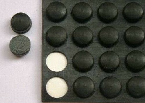 10pcs 9mm Effect Pedal Amplifier RUBBER FEET MAT PAD