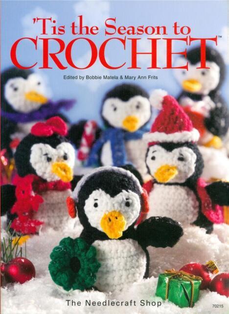 The Needlecraft Shop Christmas TIS THE SEASON TO CROCHET Patterns Book ~ NEW