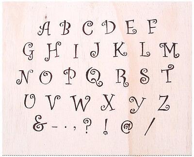 "WALL STENCILS PATTERN 12.99""x9.05"" Airbrush STENCIL LARGE TEMPLATE alphabet4"
