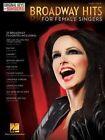 Broadway Hits: Original Keys for Female Singers by Hal Leonard Corporation (Paperback, 2013)