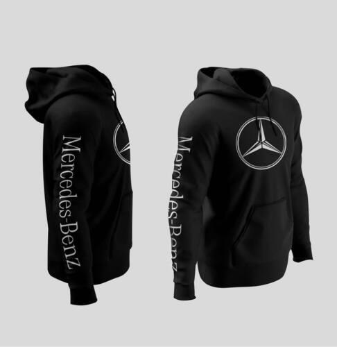 Mercedes benz logo Hoodies XS-3XL size