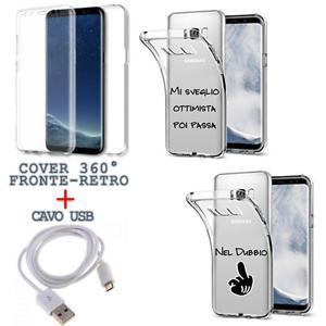 COVER-FRONTE-RETRO-360-FRASE-AFORISMI-PER-SAMSUNG-S7-S7-EDGE-CAVO-USB
