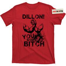 Shane Black le Predator 2 Dillon vous fils d/'un néerlandais Bitch Blu ray Tee T Shirt