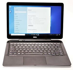 Dell 7350 2-in-1 Tablet/Laptop Touch 256GB SSD 8GB RAM Webcam Windows 10 Pro