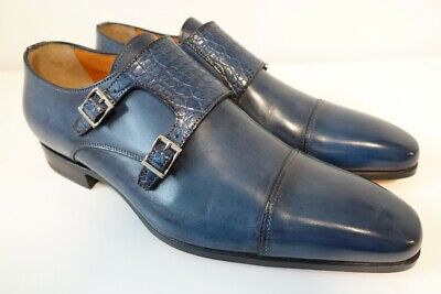 Santoni Croco Chaussures Homme Business Gr. 6 (40) Neuf