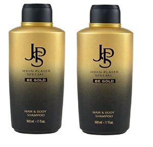 John-Player-Special-BE-GOLD-Hair-amp-Body-Shampoo-2-x-500ml
