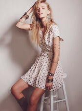 Mini Vestido Barbara nos FREE PEOPLE 10 Reino Unido 14