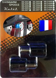 2-Diabolos-anodises-Noirs-pour-bequille-stand-atelier-Yamaha-Aprilia-Triumph