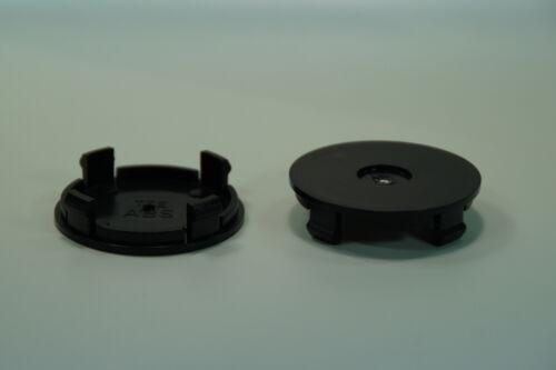 4 St. Tte negro tapacubos llantas tapa 55 mm Borbet Aluett