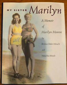 My-Sister-Marilyn-1994-Hard-Cover-Book-A-Memoir-of-Marilyn-Monroe