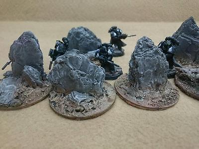 debout pierres paysage idéal pour Wargames warhammer 40k Mantic sentier de la guerre etc 6
