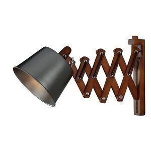 Image Is Loading New Scissor Cut Swing Arm 1 Light Black