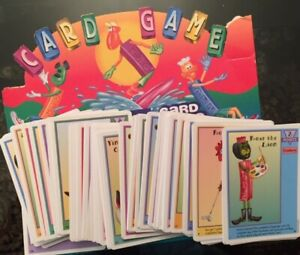 Pez Card Game - US Games Systems 2001 - Pick Your Cards - Complete Your Set