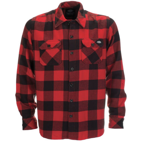 Dickies Sacramento Shirt Men/'s Shirt Flannel Shirt Men/'s Shirt Flannel New