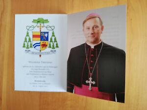 #orig.signierte Autogrammkarte # Wilfried Theising # Weihbischof in Münster