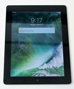 Apple Ipad 4th Gen A1458 16gb Wifi 9 7 In Black Md910ll A 10 3 3 Ios Ebay