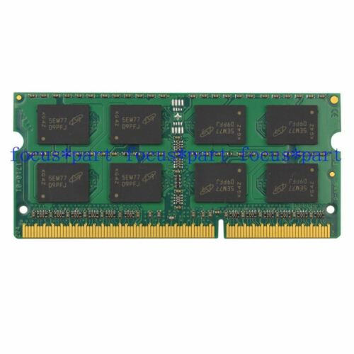 Crucial 4GB PC3-8500 DDR3-1066MHz  SODIMM 204pin Laptop Memory RAM NOTEBOOK MAC