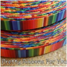"""School Ruler 1.5/"""" wide grosgrain ribbon the listing is for 5 yards total"""