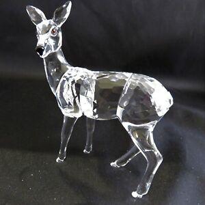 Swarovski-Figurines-Doe-and-Roe-Deer-Fawn-Set-Retired-MIB