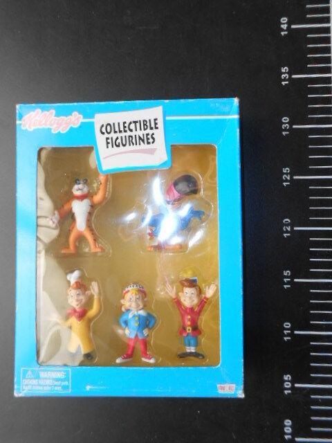 Complete Set Tony & Friends VINTAGE KELLOGS TOYS FIGURINE Kellog s Collectible