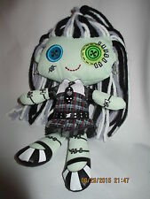 Plush Monster High Frankie Stein Rag Doll, 9 inches tall