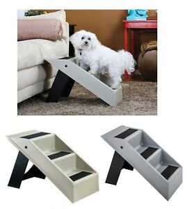 Pet-Stairs-Dog-Stairs-Katzentreppe-Dog-Ramp-Entry-Help-Animals-Stairs-New