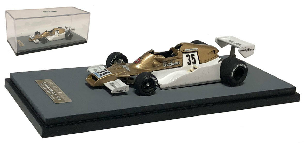 Tameo SLK115A FRECCE FA1 #35 IN SUD AFRICA GP 1978-Riccardo Patrese ha SCALA 1/43