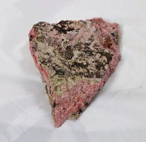 Rhodonite En Cristaux Mine De Gambatesa (Ge) - Italie