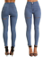 SKINNY-HIGH-WAISTED-JEANS-JEGGINGS-WOMENS-SLIM-STRETCHY-FULL-LENGTH-PANTS-S thumbnail 4