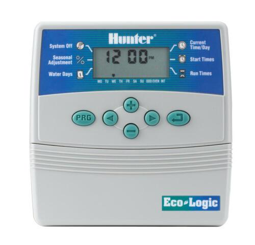 Hunter Steuergerät Eco Logic 401i Bewaesserungssystem 4 Stationen Innenmodelle