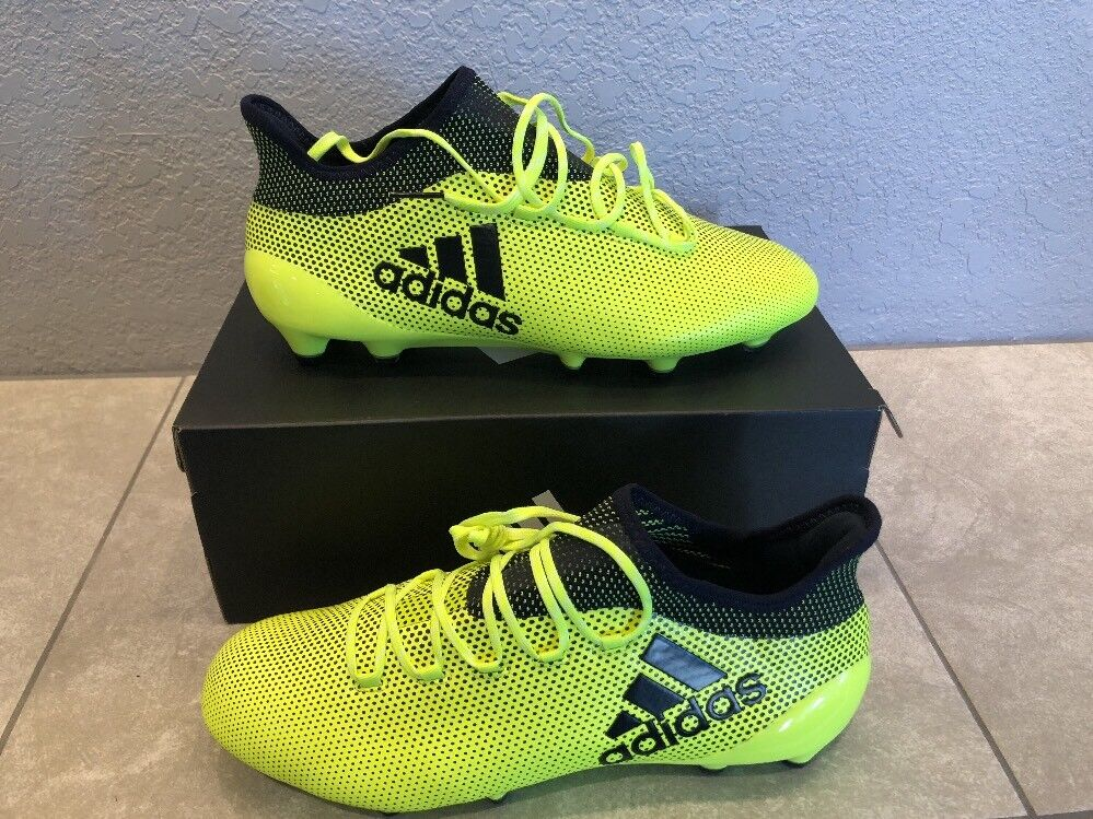 Adidas X S82286 17.1 FG Solar Yellow Mens Soccer Cleats S82286 X SIZE 10 5d2ed3