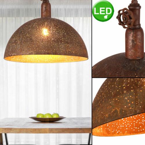 LED Vintage Decken Hänge Strahler DIMMER Ess Zimmer FILAMENT Pendel Lampe rost